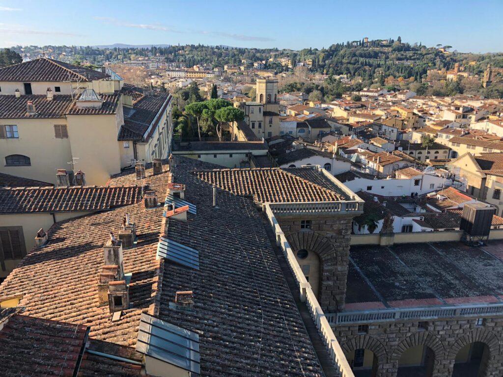 tetto palazzo pitti