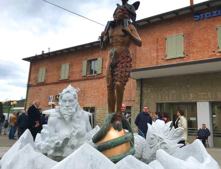 Progetto d'installazione di una fontana artistica del Maestro Luigi Ontani